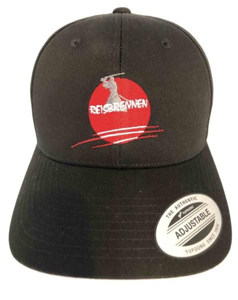 Reisbrennen Cap Black/Black Logo