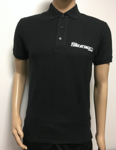Timeattack Polo- Shirt Men Black