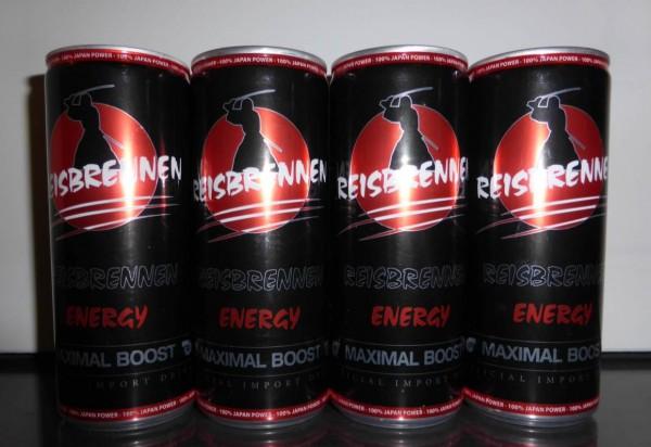 Reisbrennen Energydrink 4er Pack