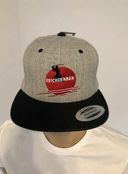 Reisbrennen Cap Grey/Black Logo