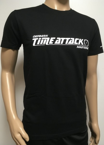 Timeattack T- Shirt Men Black