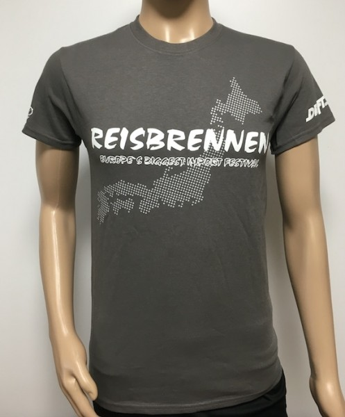 Reisbrennen T- Shirt Men Grau