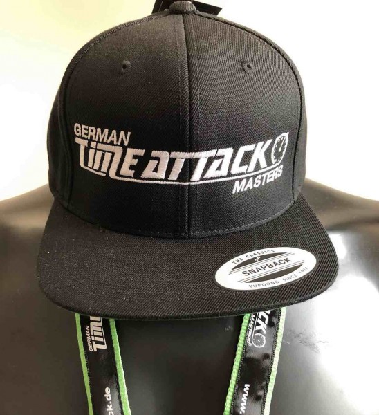 Timeattack Cap Black/Black Logo White
