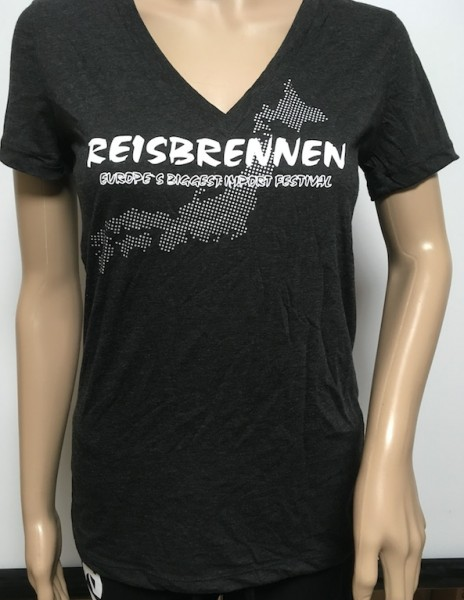 Reisbrennen T- Shirt Woman Anthrazit