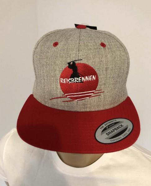 Reisbrennen Cap Grey/Red Logo
