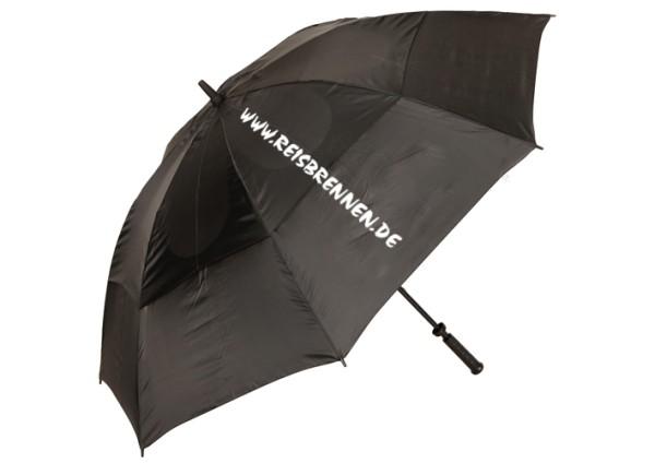 Reisbrennen Regenschirm