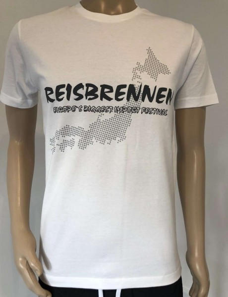 Reisbrennen T- Shirt Men White