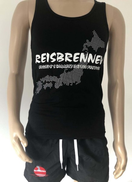 Reisbrennen Tank Top Men Black