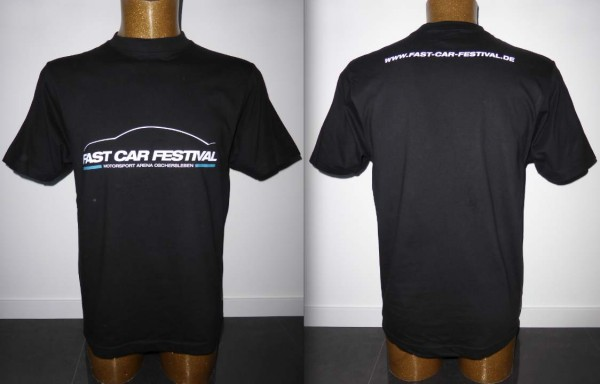 Fast Car Festival T- Shirt Men Black