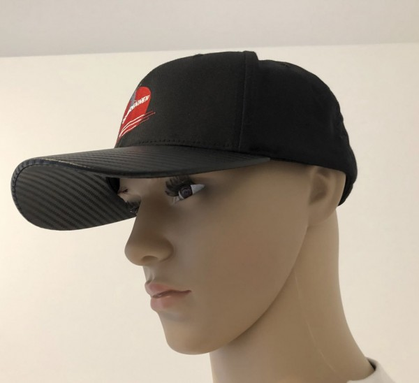 Reisbrennen Cap Black/Carbon Logo