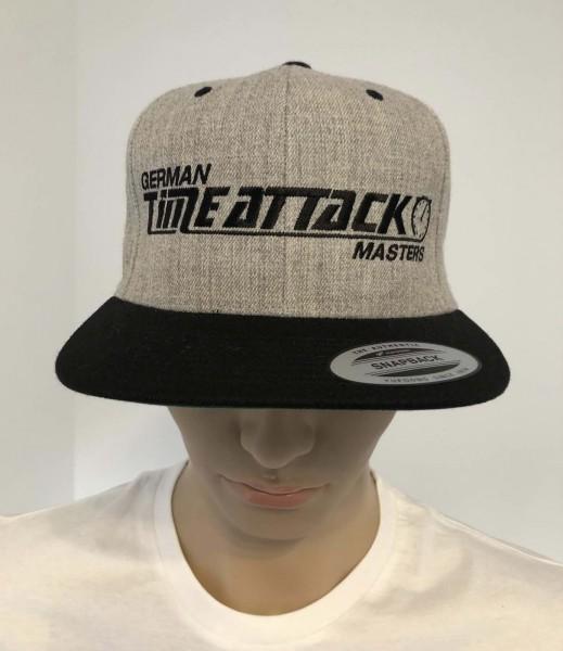 Timeattack Cap Grey/Black Logo Black